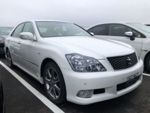 2007 Toyota Crown Athlete Premium Edition sedan right front