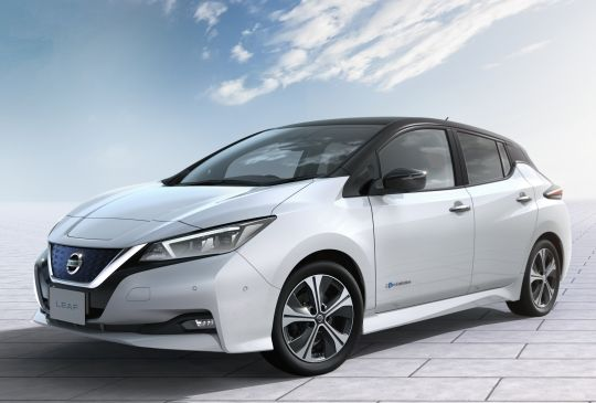 2018 Nissan Leaf import