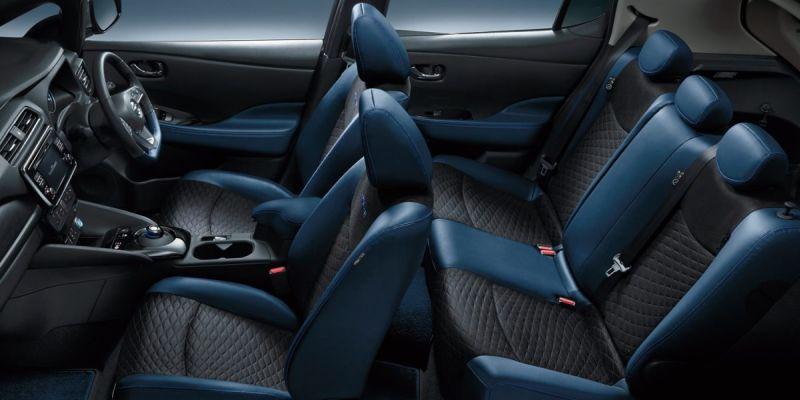 Nissan Leaf AUTECH interior 2