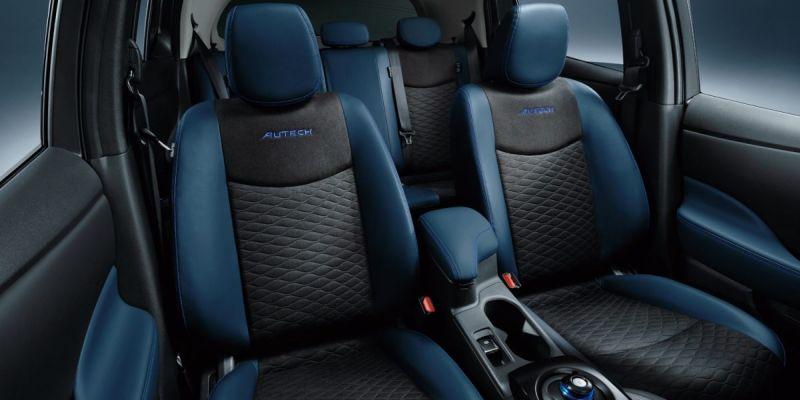 Nissan Leaf AUTECH interior