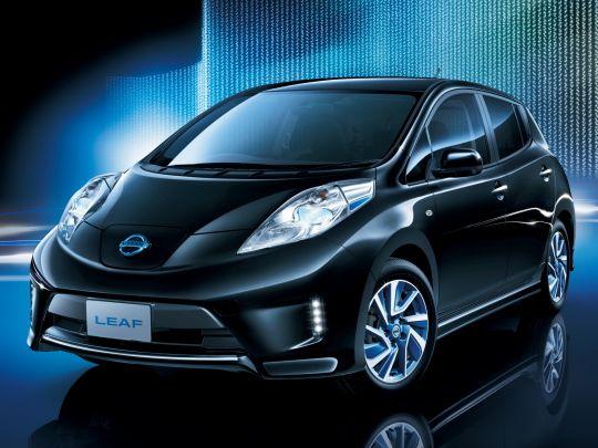 Nissan Leaf import aero 3