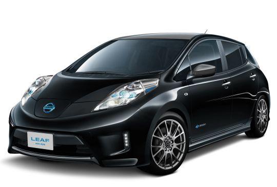 Nissan Leaf import aero