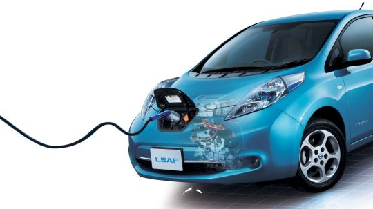 Nissan Leaf import charging