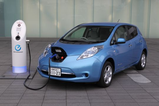 Nissan Leaf import fast charge