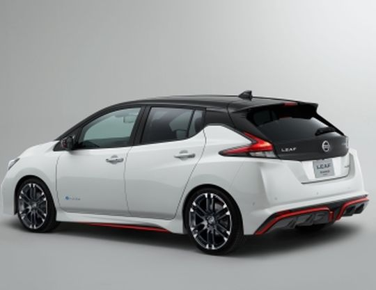Nissan Leaf import Nismo Concept rear