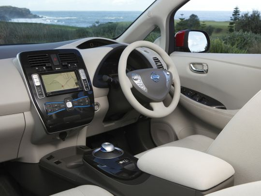 Nissan Leaf import interior 2