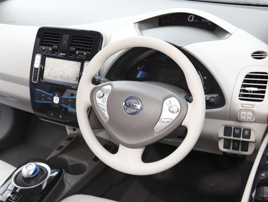 Nissan Leaf import interior