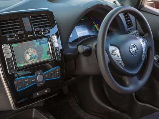 Nissan Leaf import steering wheel