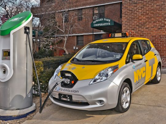 Nissan Leaf import taxi