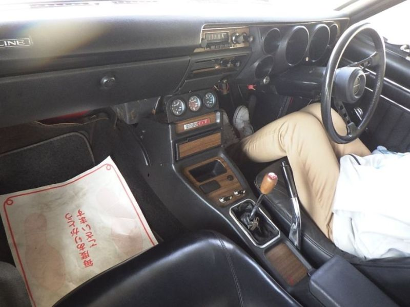 1972 GT-R KPGC10 interior