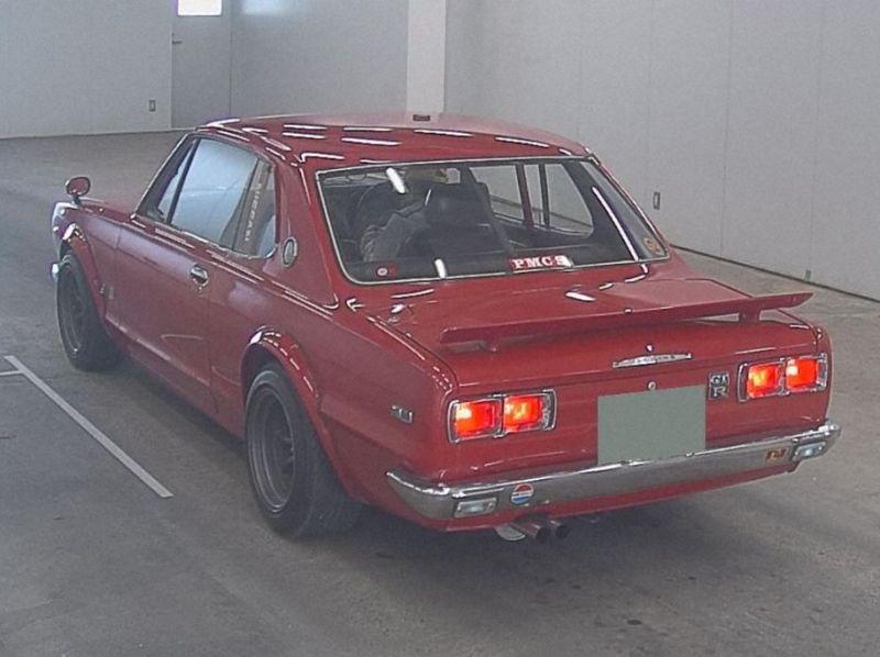 1972 GT-R KPGC10 left rear