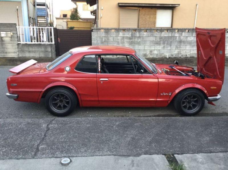 1972 GT-R KPGC10 side