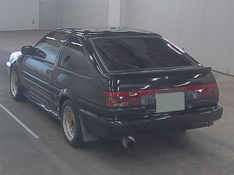 1986 Toyota Sprinter BLACK LTD 2