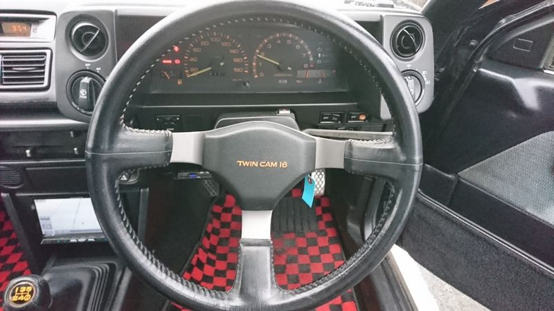 1986 Toyota Sprinter BLACK LTD 35
