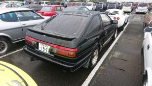 1986 Toyota Sprinter BLACK LTD rear