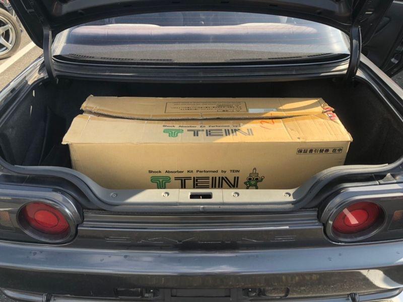 1990 Nissan Skyline R32 GTR NISMO boot
