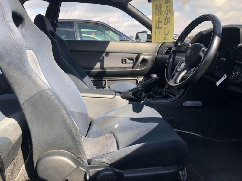1990 Nissan Skyline R32 GTR NISMO driver seat