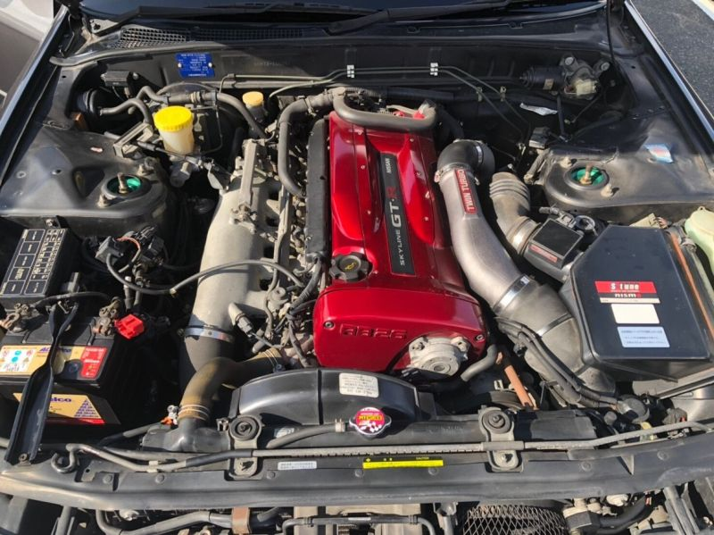 1990 Nissan Skyline R32 GTR NISMO engine
