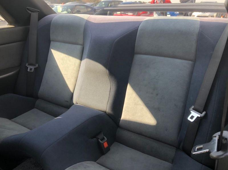 1990 Nissan Skyline R32 GTR NISMO rear seat