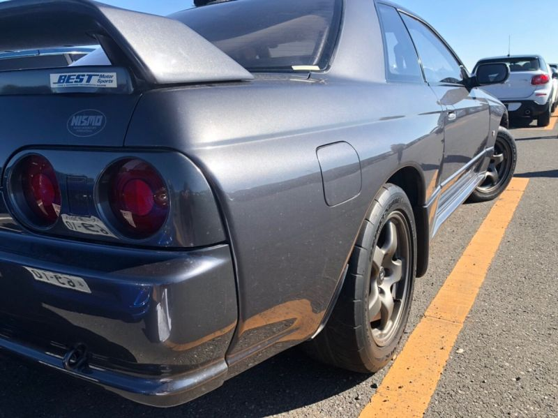1990 Nissan Skyline R32 GTR NISMO right side rear