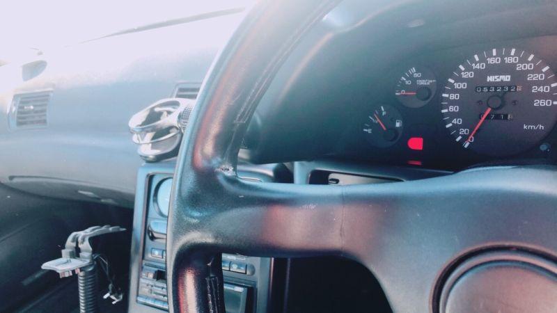 1990 Nissan Skyline R32 GTR NISMO steering wheel