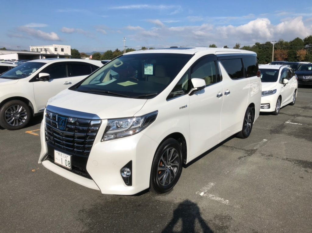 2017 Toyota Alphard Hybrid Executive Lounge left front