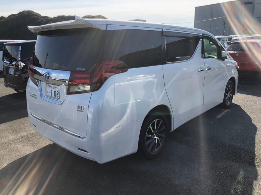 2017 Toyota Alphard Hybrid Executive Lounge right rear