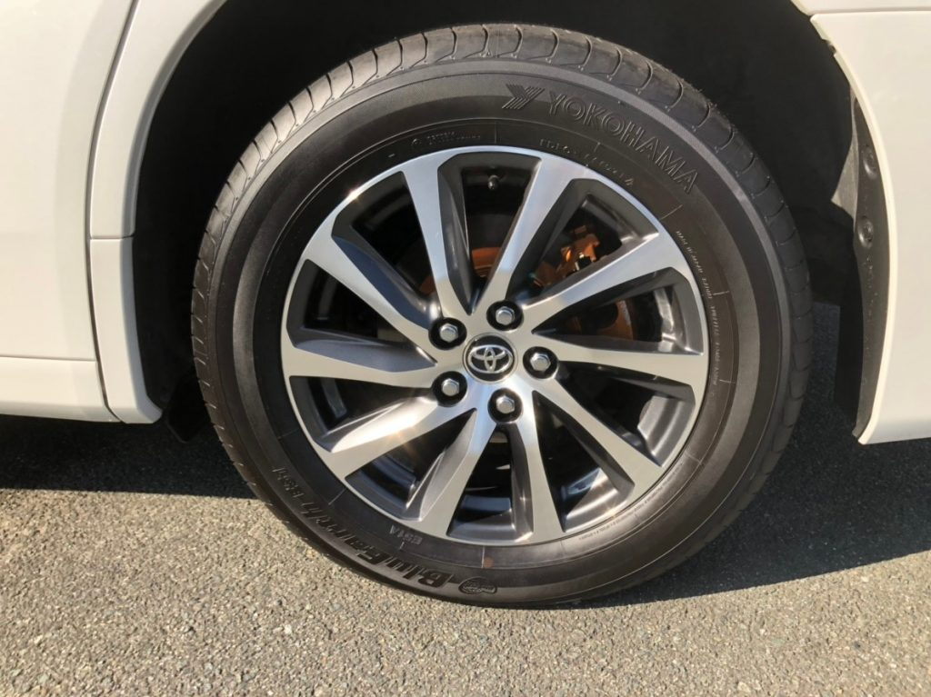 2017 Toyota Alphard Hybrid Executive Lounge wheel 2