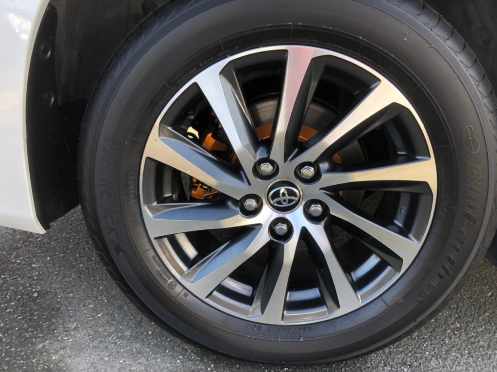2017 Toyota Alphard Hybrid Executive Lounge wheel 3