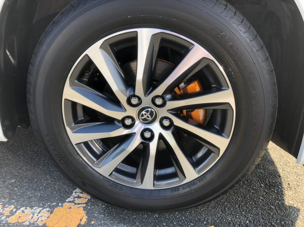 2017 Toyota Alphard Hybrid Executive Lounge wheel 4