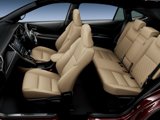 Interior Toyota Harrier '2013–17 interior