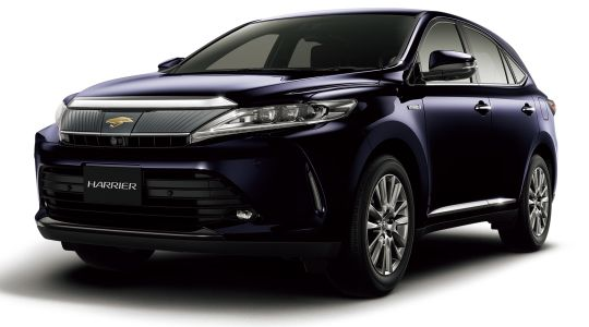Toyota Harrier Elegance G's 2014 to 2017