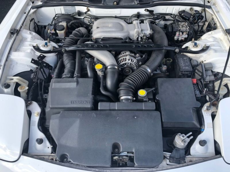 2002 Mazda RX-7 Type R Bathurst engine