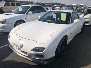 2002 Mazda RX-7 Type R Bathurst left front