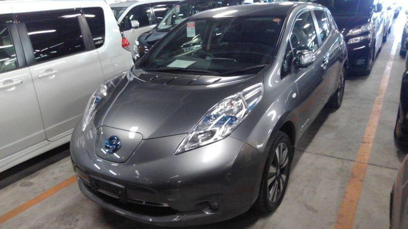 2013 Nissan Leaf G leather 14