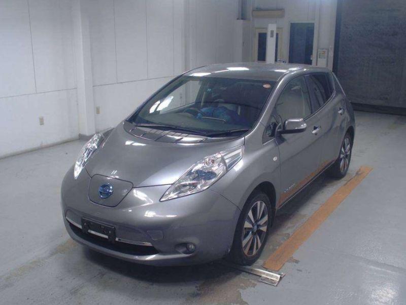 2013 Nissan Leaf G leather 31