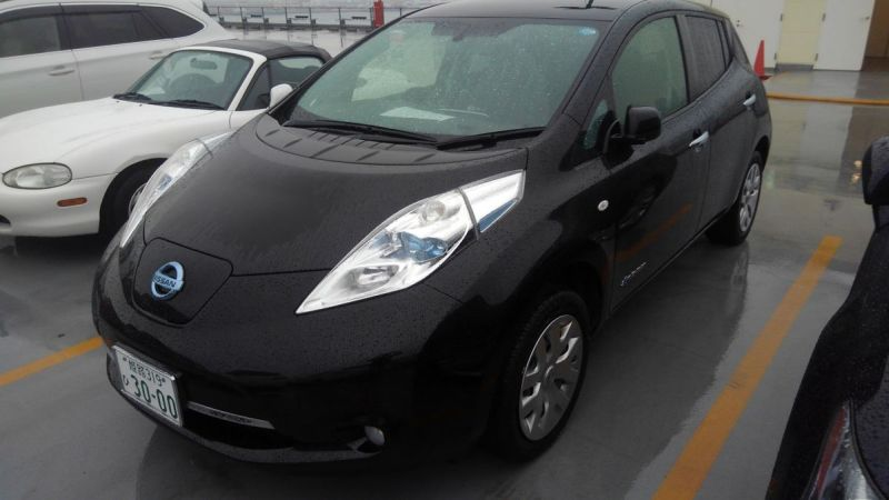2014 Nissan Leaf X 24kW left front