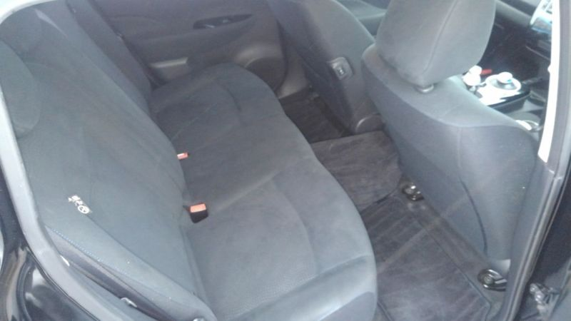 2014 Nissan Leaf X 24kW rear seat