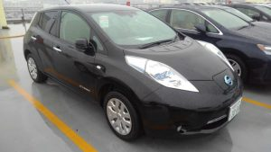 2014 Nissan Leaf X 24kW right front