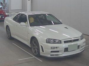 2002 R34 GT-R VSPEC 2 NUR white 1