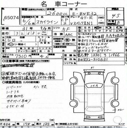 1994 R32 GTR VSPEC II N1 Auction Report
