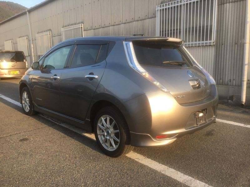 2014 Nissan Leaf X Gen 2 left rear