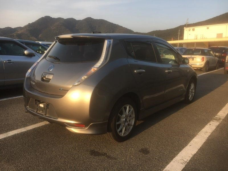 2014 Nissan Leaf X Gen 2 right rear