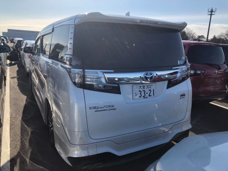 2017 Toyota Vellfire Executive Lounge 40