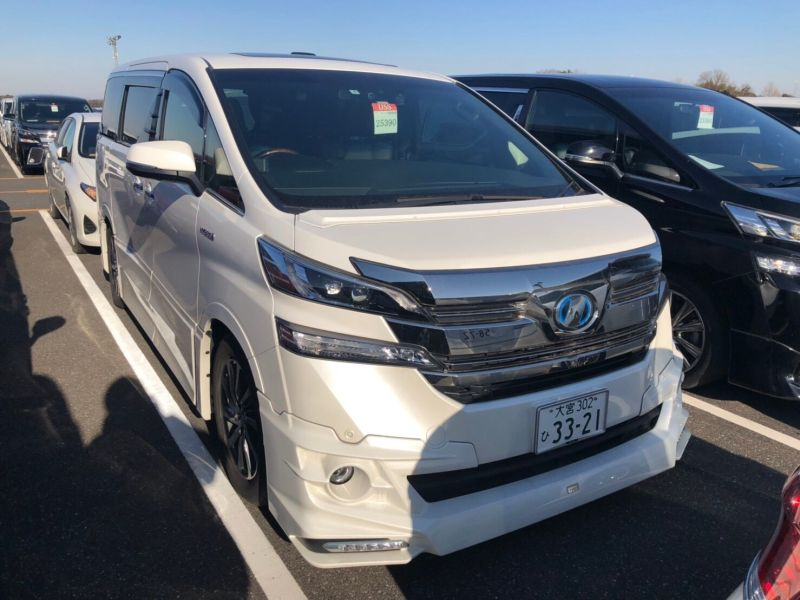 2017 Toyota Vellfire Executive Lounge 42