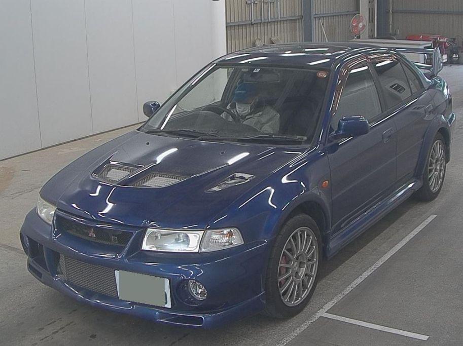EVO 6 GSR blue 3