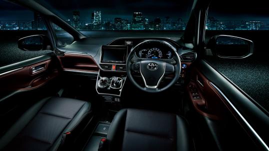 Toyota Esquire Hybrid interior 2
