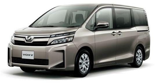 Toyota Voxy Hybrid silver