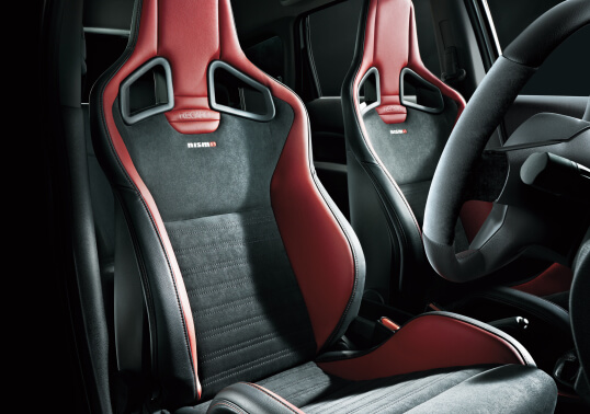 Nissan Note e-POWER Nismo (E12) seats