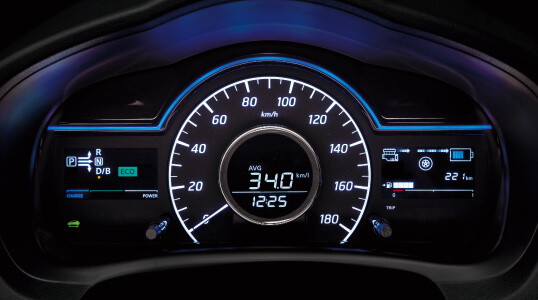 Nissan Note e-POWER dash